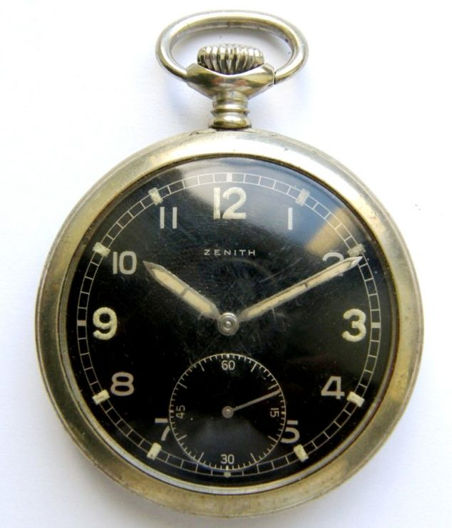 """SS/ Reloj """"Zenith"""" de la """"SS-Pol. Div."""""""
